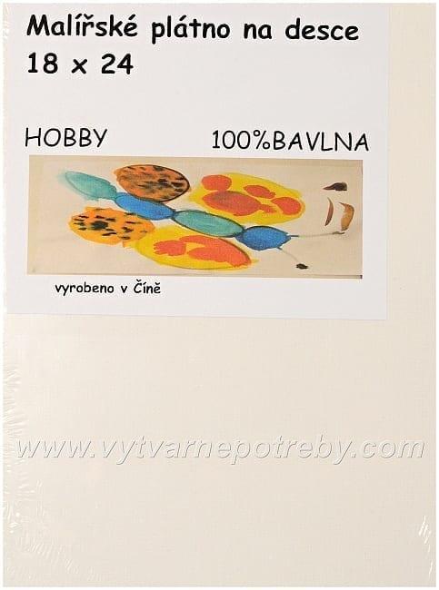 Plátno na desce Hobby  18 x 24
