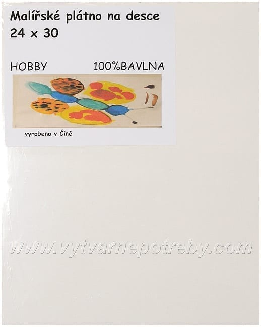 Plátno na desce Hobby  24 x 30